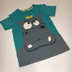 H&M Graphic Hippo Tee